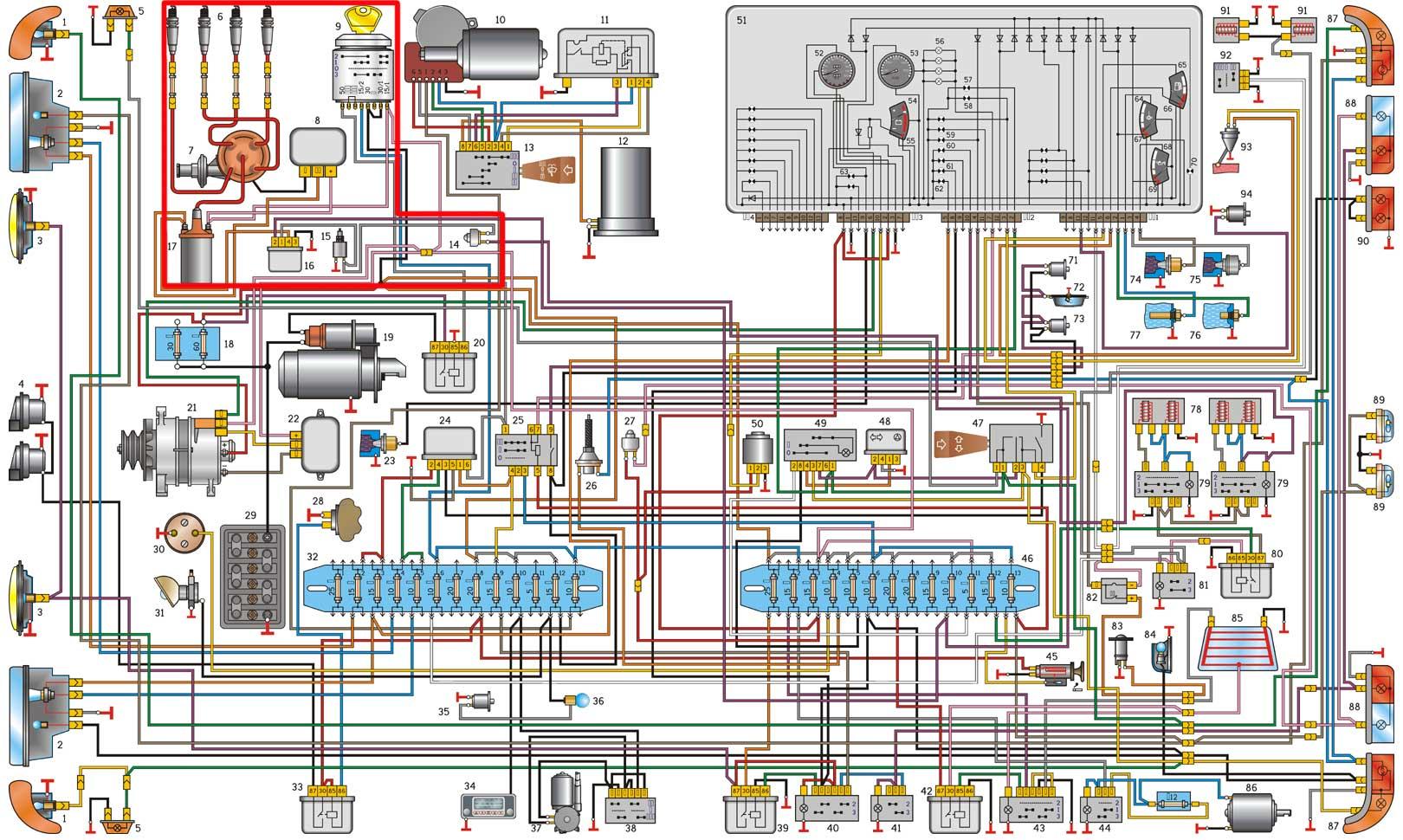 Газ 3302 схема электрооборудования фото 944
