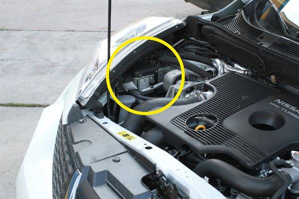 Установка устройства Webasto на Nissan