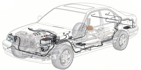 tipovaya-sxema-provodki-avtomobilya