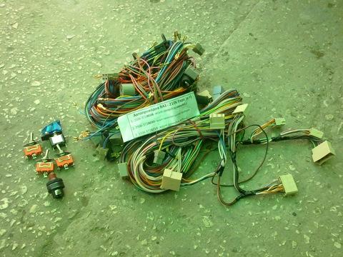 Так выглядит комплект проводки  конечно придется разобраться но работа вполне по силам любому автовладельцу